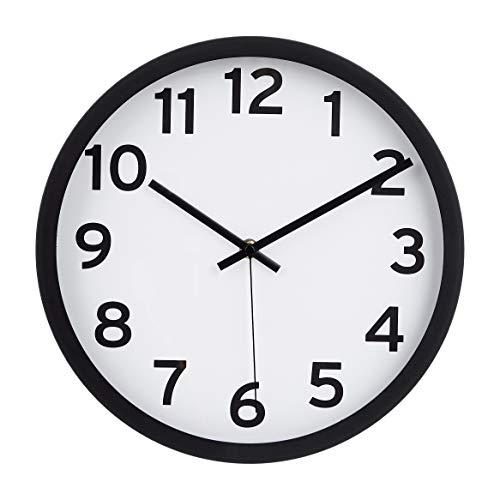 orologio da parete quadrato Amazon Basics - Orologio da parete