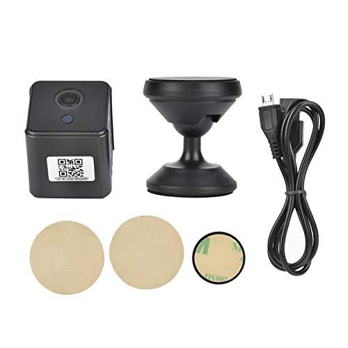 Akozon Cámara IP A12 Cámara HD DV Grabadora de Video WiFi 1080P 30FPS 16: 9 Cámaras IP Visión Nocturna Detección de Movimiento Grabadora de visión Nocturna