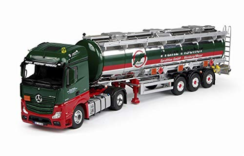 Para tanque Benz Actros Gigaspace ISO para Huizinga 69586X 1/50 caminhão com acabamento de carro