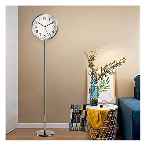 Reloj de mesa Los números Sencilla Permanente Reloj Creativo Reloj Piso Sala de Mesa Reloj Reloj Centro Comercial del hogar Moderno Reloj de Cuarzo Reloj árabes (Color : B)