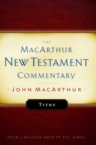 New Testament Commentary: Titus