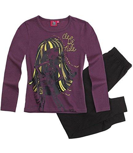 Monster High Pyjama schwarz (140)