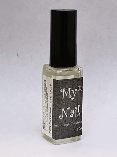 MY NAIL  Anti Fungal Nail Treatment - 10ml - Stop Toenail & Fingernail Infections - Max Strength Fungus Remover - Discolouration, Brittle, Cream Cracked Nails- Extra Strength That Works!