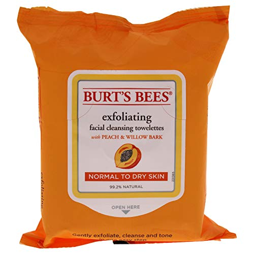 Burt' s Bees Salviette detergenti per la pelle sensibile del viso 25pezzo