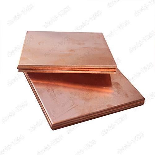 Online Metal Supply C110 Copper Round Edge Flat Bar 3//8 x 3 x 24