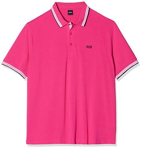 BOSS Herren B-Paddy Poloshirt, Rosa (Medium Pink 660), XXXXX-Large