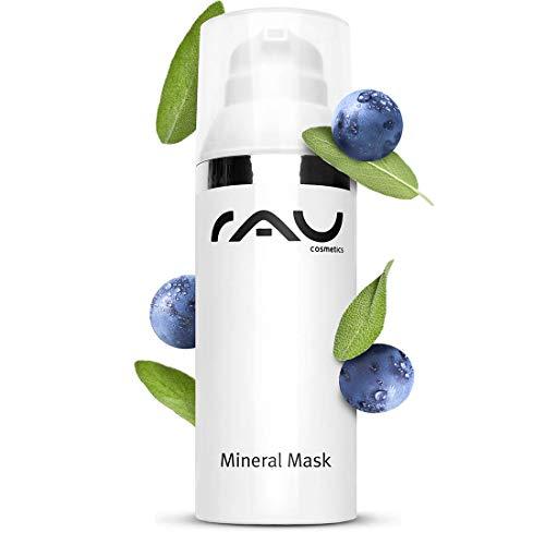 RAU Mineral Mask 50 ml - Masque visage minéral pour les peaux impures et acnéiques. Á base de la craie médicinale de Rügen, la sauge, du Zinc et de beurre de karité. Soin visage nettoyant contre impuretés à effet apaisant et antibactérien!