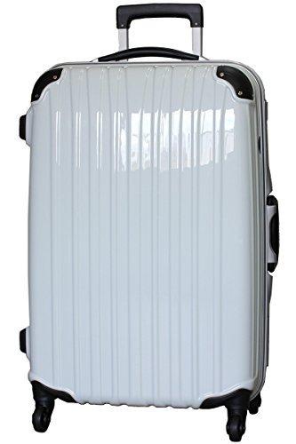 [ビータス] スーツケース ハード 4輪 BH-F1000 保証付 80L 76 cm 6kg 鏡面パールホワイト