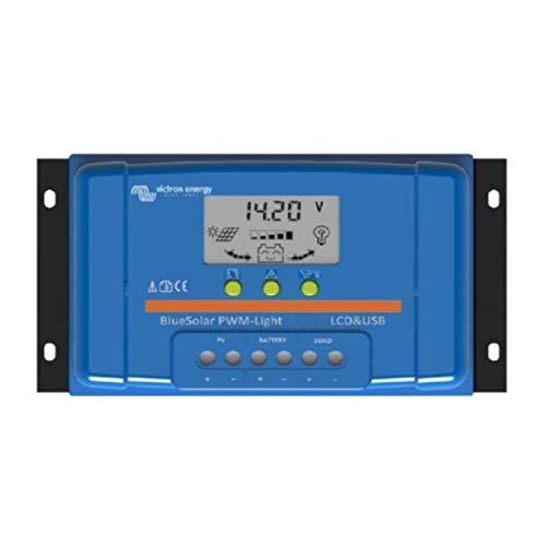 Victron Energy - Regulador solar PWM 30A LCD & USB - 12/24 V