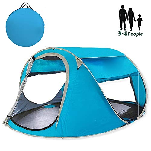TMXWHYQ Pop-upTent, Outdoor camping tent,Utility Tent Camping Changing Room Storage Tent,for Hiking, Camping, Outing,Blue