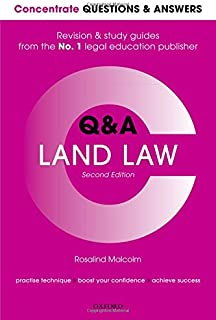Concentrate Q&A Land Law 2e: Law Revision and Study Guide (Concentrate Questions & Answers)