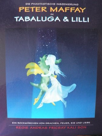 Die phantastische Inszenierung Peter Maffay in Tabaluga & Lilli. Ein Rockmärchen von Drachen, Eis und Liebe. Regie Andras Fricsay Kali Son.