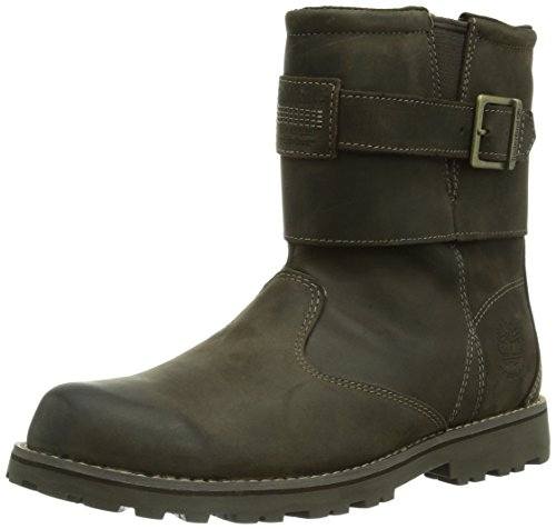 Timberland Asphalt Trail FTK_EK Asphalt Trail WP Biker Boot, Unisex-Kinder Biker Boots, Braun (DARK BROWN),37 EU (4 Kinder UK)