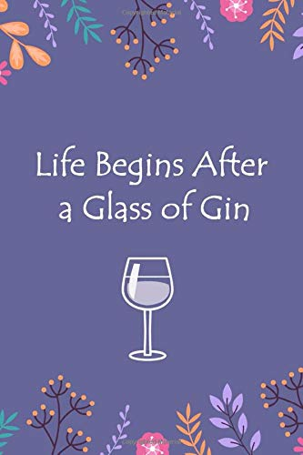 Lined Notebook with Quote - Gin Gifts for Women, Gifts for Gin Lovers (Gag Gifts, Band 192)
