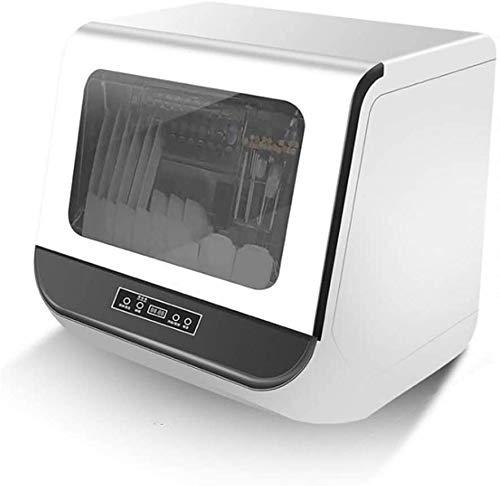 ZIJIAGE Tischgeschirrspüler,geeignet Für Die Küche 1200w Jeweils 3 Liter Wasser,berühren Sie die Taste 360 ° Doppelspray 72 ° Hochtemperatursterilisation