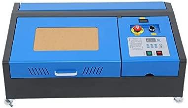 TryE 110V Laser Engraver 40W CO2 Laser Engraving Cutting Carving Machine USB Port