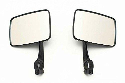 Spiegel eckig Oldtimer passend für Simson und MZ TS Paar Metall