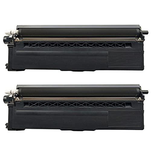 Reemplazo compatible del cartucho de tóner para el hermano TN376 para usar con el hermano HL-L8250CDW 9200CDW 8400CDN 8350CDW CDP-L8450CDW MFC-L8650CDW 8600CDW 8850C Black*2