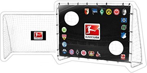 Xtrem Toys & Sports 60118-BL - Fußballtor Bundesliga inklusiv Torwand