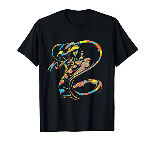 Predator Reptile Colorful Snake T-Shirt