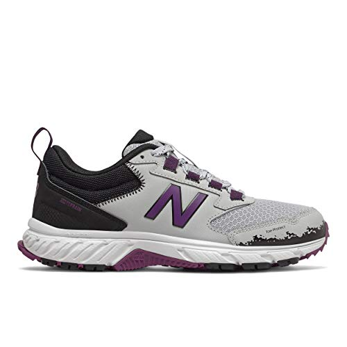 New Balance Women's 510 V5 Trail Running Shoe grey Size: 8.5 Wide