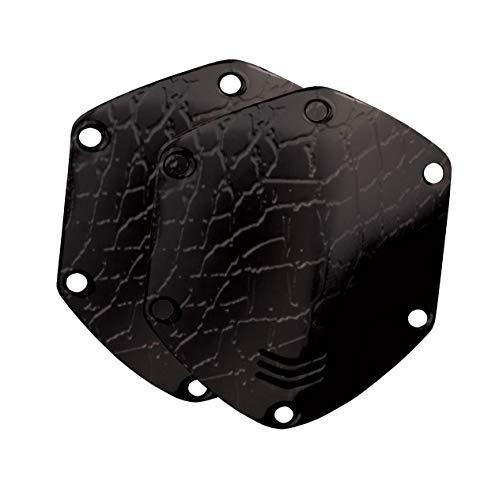 V-MODA Crossfade Over-Ear Headphone Metal Shield Kit - Croc Black