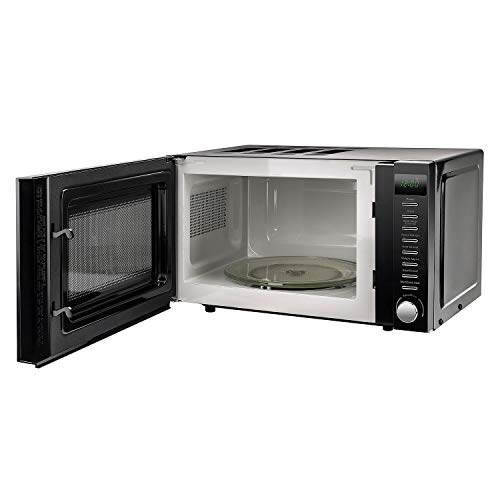 VYTRONIX 800W Digital Microwave Oven 20L Capacity, Auto Defrost, 5 Power Levels, Clock & Timer Function, Freestanding…