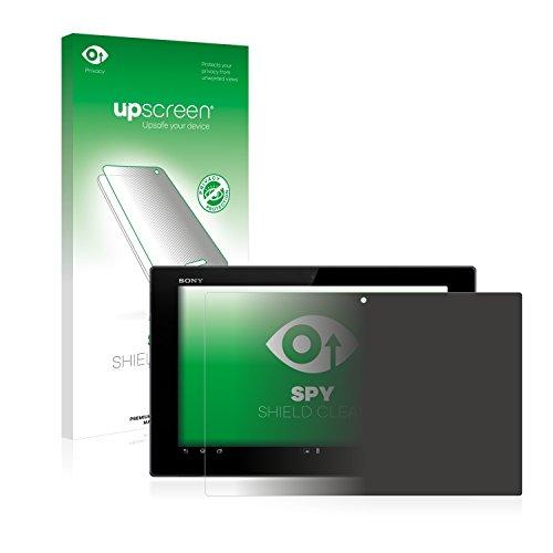 upscreen Pellicola Privacy Compatibile con Sony Xperia Tablet Z LTE SGP321 Anti-Spy