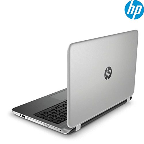 2018 Newest Premium High Performance HP Laptop PC 15.6 HD BrightView WLED-Backlit Display Intel Pentium N3540 Quad-Core Processor 4GB RAM 500GB Hard Drive HDMI DVD-RW WIFI Windows 10-Silver