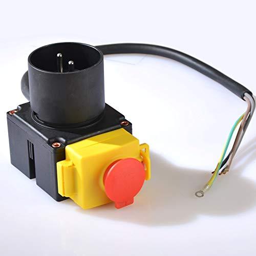 KEDU Geräteschalter KOA7 für Kreissäge, Holzspalter, Wippsägen und vielen anderen Maschinen 230 Volt