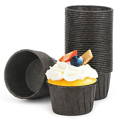 Cupcake Paper Baking Cups Eusoar 50pcs 35oz Cupcake Liners Christmas Muffin Cupcake Liners Cupcake Wrappers Cupcake paper Paper Cupcake Liners Holder Disposable Ramekins Muffin Pan Baking Cups