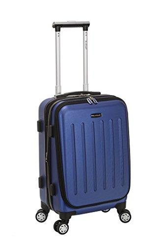 Rockland Titan Hardside Carry-On Spinner Luggage, Blue