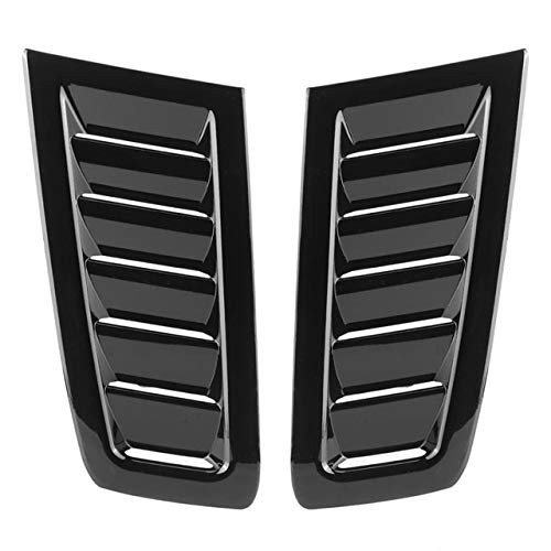 Auto Coche ABS Capo Salida De Aire Modificado Adapta Accesorios For Ford Focus RS MK2 Estrenar ABS Accesorios For Automóviles (Color : Black)