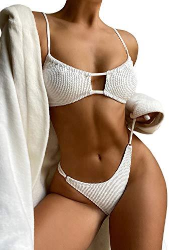 Romwe Strukturierter Bikini