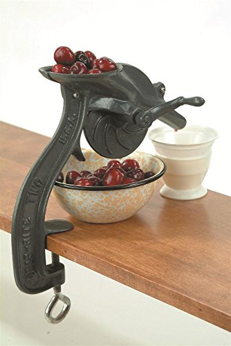 of cherry pitter for kids dec 2021 theres one clear winner Old Fashioned Cast Iron Hand Operated Cast Iron Clamp On Cherry Pitter