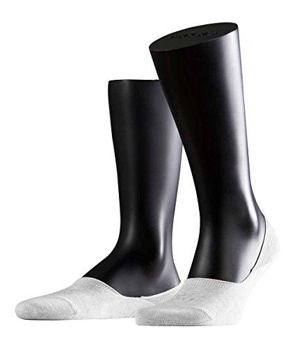 FALKE 3 Paar Socken 14625 Step Sneaker Invisibles Sommerlicher Kurzstrumpf, Farbe:White, Socken und Strümpfe:43-44