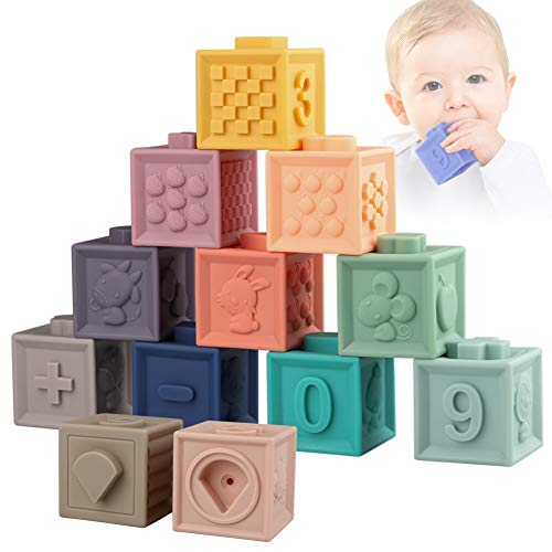 Sunarrive Soft Building Blocks for Toddlers Babies 6 9 12 Months 1 Year Old...