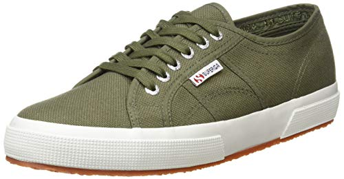 Superga 2750 COTU Classic Sneakers, Zapatillas Unisex Adulto, Verde (Green Sherwood 102), 41.5 EU