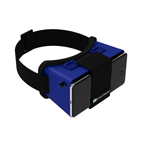 Virtual Reality Headset for Smartphones (Blue) by SmartTheater