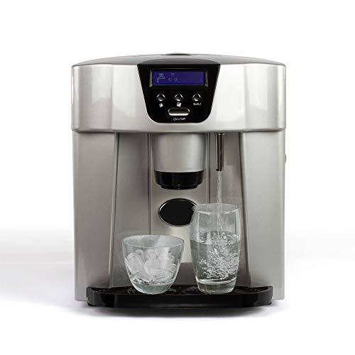 LIVOO DOM368 Distributeur à eau et glaçons, 110 W, Noir/Argent