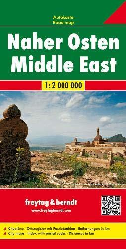 F&B Midden-Oosten: Wegenkaart 1:200 000