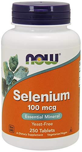 Now Foods Selen 250 tabletten, 100 mcg