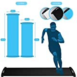 American Lifetime Slide Board Workout Board 6ft Sports Fitness Training and Therapy Board with Shoe Booties and Carrying Bag Included