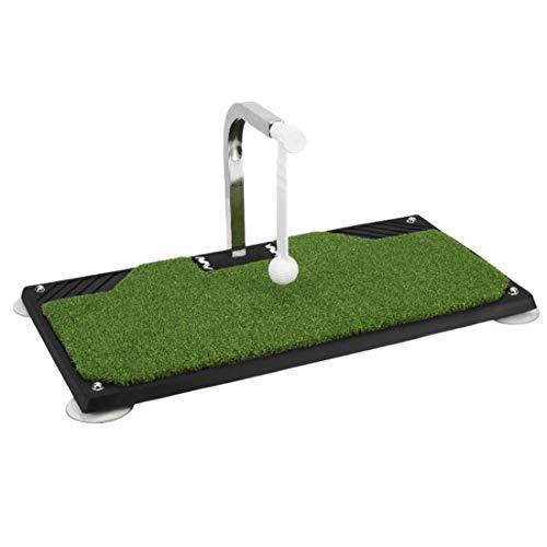 Entrenador giratorio de 360 ° para columpio de golf, batido de apoyo, práctica portátil, sistema de retorno de bola de 360...