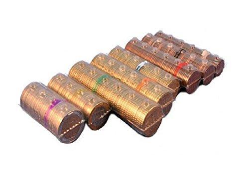 Blister per monete euro - Kit 160 blister portamonete tagli assortiti (20 pezzi per taglio euro) + omaggio