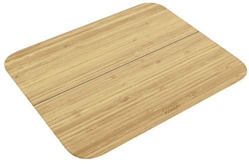 JosephJoseph(ジョセフジョセフ)切った食材をまとめやすい角度が便利なアイデアまな板Chop2Potシリーズバンブーラージ60112
