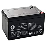 Rascal AutoGo555 12V 12Ah Mobility Scooter Battery - This is an AJC Brand Replacement