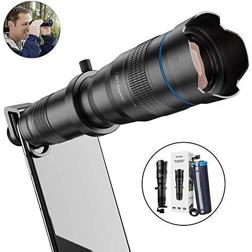 RSGK 36X Mobiele Telescoop, Zoom Telelens met statief, HD Smartphone Lens voor IPhone, Samsung, Android, Monoculair