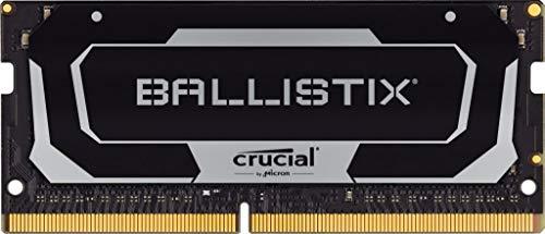 Crucial Ballistix BL2K16G26C16S4B 2666 MHz, DDR4, DRAM, Memoria Gaming Kit per Computer Portatile, 32GB (16GB x2), CL16