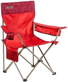Coleman Quad Rambler Chair, Bordeaux Red